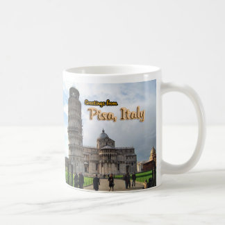 The Leaning Tower of Pisa, Italy Classic White Coffee Mug
