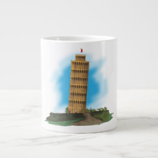 The Leaning Tower of Pisa Large Coffee Mug