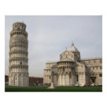 The Leaning Tower of Pisa Poster