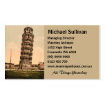 The Leaning Tower of Pisa, Tuscany, Italy Business Cards