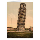 The Leaning Tower of Pisa, Tuscany, Italy Card