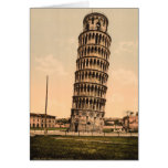 The Leaning Tower of Pisa, Tuscany, Italy Greeting Cards