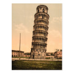 The Leaning Tower of Pisa, Tuscany, Italy Post Card