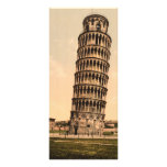 The Leaning Tower of Pisa, Tuscany, Italy Customized Rack Card