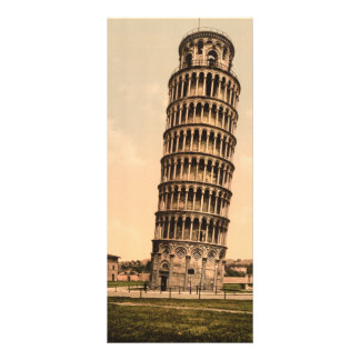 The Leaning Tower of Pisa, Tuscany, Italy Personalized Rack Card