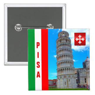 The Leaning Tower | Pisa, Italy Button