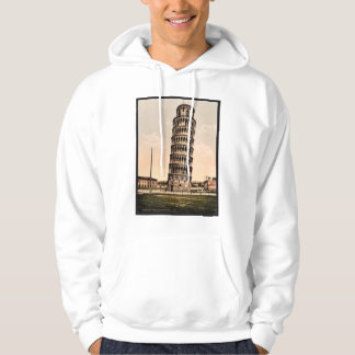 The Leaning Tower, Pisa, Italy classic Photochrom Hooded Sweatshirt