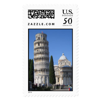 The Leaning Tower Postage