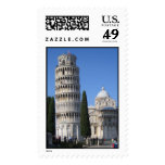 The Leaning Tower Stamp