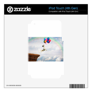 The leap of Faith iPod Touch 4G Skin