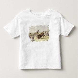 The Leap or Salta Tras Cuernos, 1865 (colour litho Toddler T-shirt