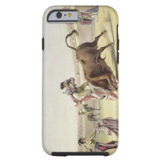 The Leap or Salta Tras Cuernos, 1865 (colour litho Tough iPhone 6 Case