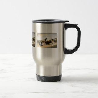 The Leap or Salta Tras Cuernos Travel Mug