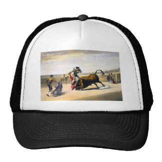 The Leap or Salta Tras Cuernos Trucker Hat