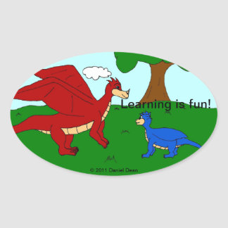 The Learning Dragon stickers