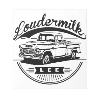 The Lee Loudermilk Collection Notepad