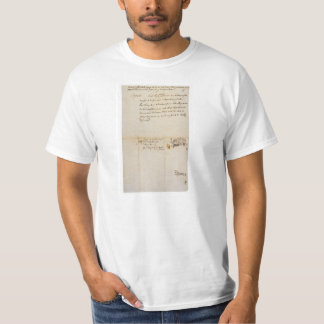The Lee Resolution of Independence July 2 1776 T-Shirt