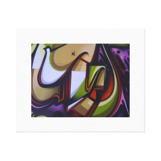 The Leech Design.Stretched Canvas Print