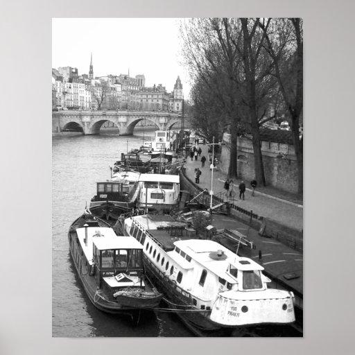 The Left Bank, Paris Posters
