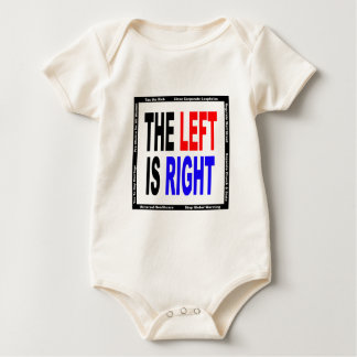 The Left is Right Baby Bodysuit