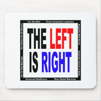 The Left is Right Mouse Pad