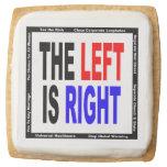 The Left is Right Square Premium Shortbread Cookie