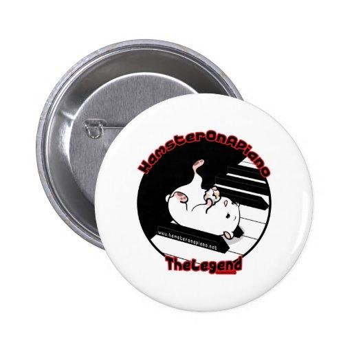 The Legend 2 Inch Round Button