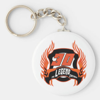 The Legend 30th Birthday Gifts Keychain