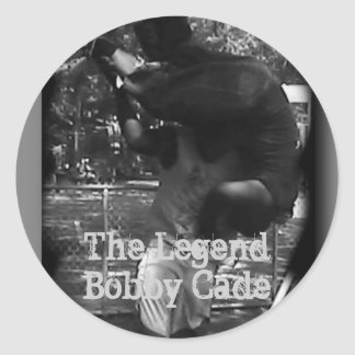 The Legend Bobby Cade Stickers