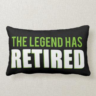 The Legend Has Retired Lumbar Pillow