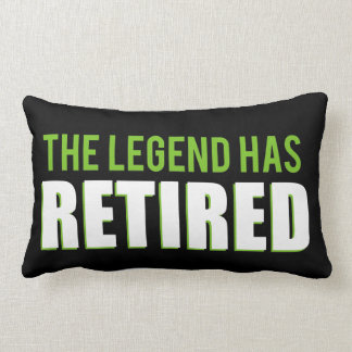 The Legend Has Retired Lumbar Pillow