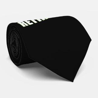 The Legend Has Retired Neck Tie