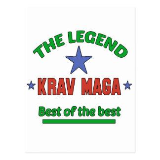 The Legend Krav Maga Postcard