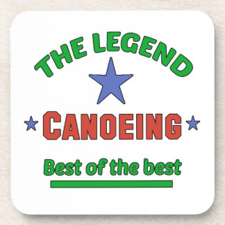 The Legend Of Canoeing Coaster