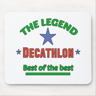 The Legend Of Decathlon Mouse Pad