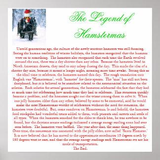 The Legend of Hamstermas Poster