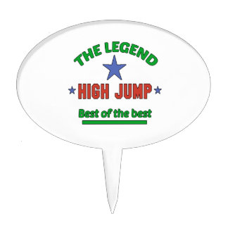 The Legend Of High Jump Cake Topper
