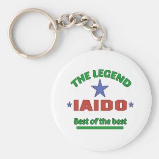 The Legend Of Iaido Basic Round Button Keychain