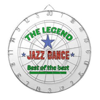 The Legend Of Jazz dance Dartboard