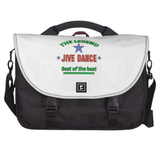 The Legend Of Jive dance Bag For Laptop