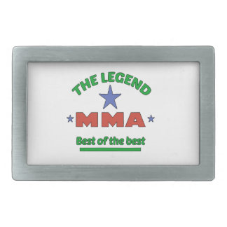 The Legend Of MMA Belt Buckle