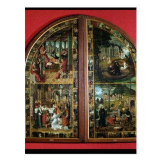 The Legend of St. Bertin Postcard