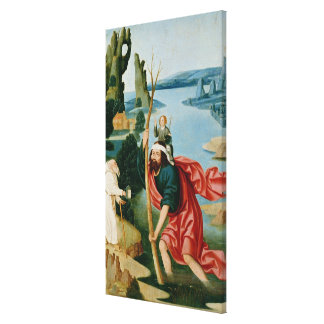The Legend of St. Christopher Canvas Print