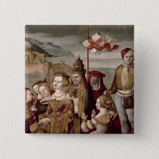 The Legend of St. Ursula, c.1530 (oil on panel) Button