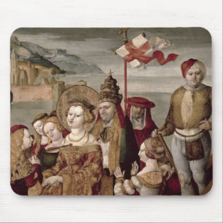 The Legend of St. Ursula, c.1530 (oil on panel) Mouse Pad