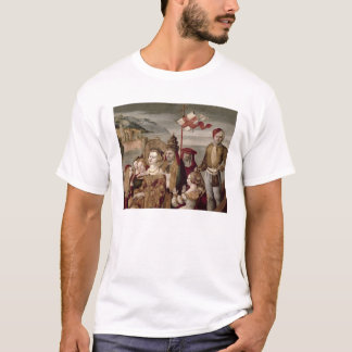 The Legend of St. Ursula, c.1530 (oil on panel) T-Shirt