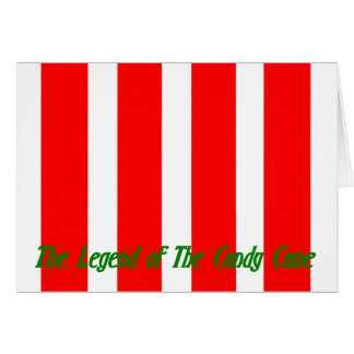 THE LEGEND OF THE CANDY CANE... CARD
