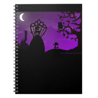 The Legend of the Unicorn Spiral Notebooks