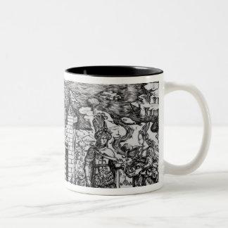 The Legend of Theseus Two-Tone Coffee Mug