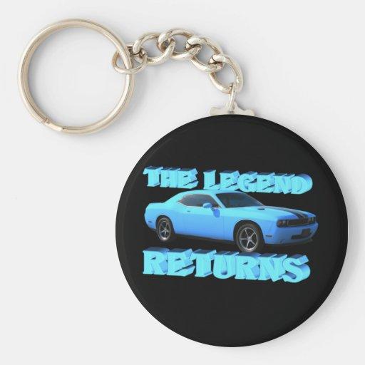 The Legend Returns Keychain